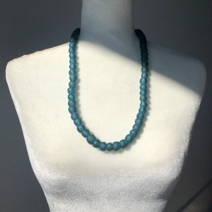 Glass Bead Necklace.
